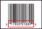 sample upc label