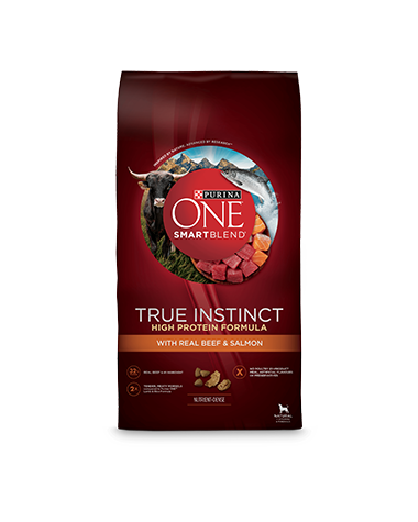 Purina ONE® SmartBlend® True Instinct High Protein Formula with Real Beef & Salmon Dry Dog Food