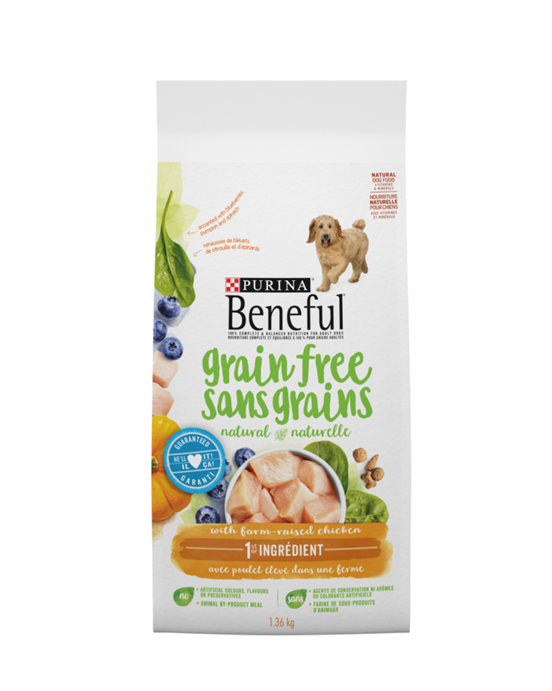 Beneful Grain Free Dog Food with Real Chicken
