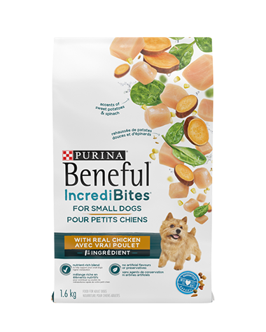 Beneful IncrediBites chicken dry dog food for small dogs