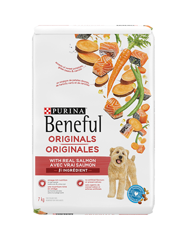 Beneful Originals salmon dry dog food