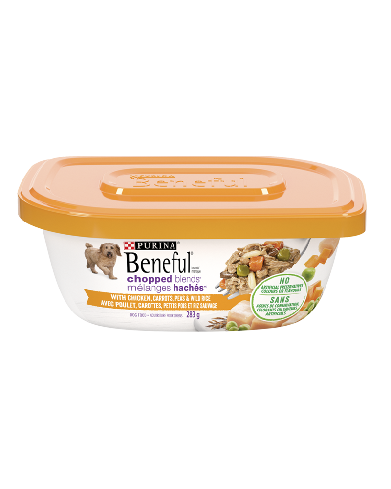 Beneful Chopped Blends chicken wet dog food