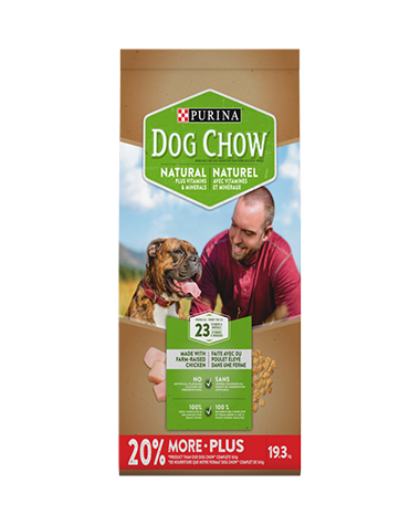 Dog Chow Natural Dog Food