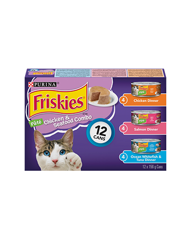 Friskies® Chicken & Seafood Combo Cat Food Variety Pack
