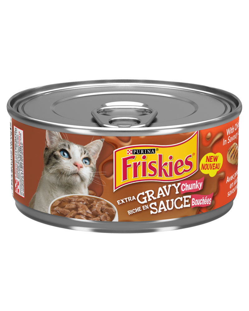 Friskies Extra Gravy Chicken Wet Cat Food