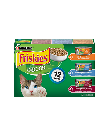 Friskies® Indoor Cat Food Variety Pack