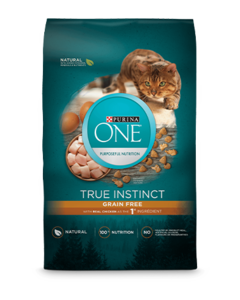 Purina ONE® True Instinct Natural Grain Free with Real Chicken plus Vitamins & Minerals Dry Cat Food