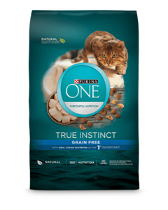 Purina ONE® True Instinct Natural Grain Free With Real Ocean Whitefish Plus Vitamins & Minerals Dry Cat Food