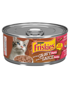 Friskies Extra Gravy Salmon Wet Cat Food