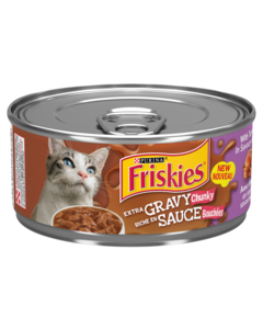 Friskies Extra Gravy Turkey Wet Cat Food