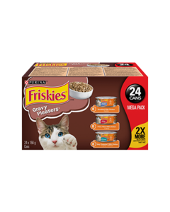 Friskies® Gravy Pleasers™ Cat Food Variety Pack