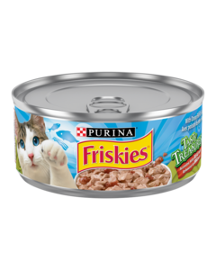 Friskies Tasty Treasures with Ocean Fish in Sauce Wet Cat Food