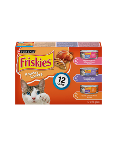 Friskies® Poultry Lovers Cat Food Variety Pack