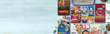 Purina dog and cat food products
