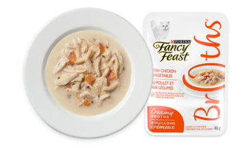 Fancy Feast Broths Chicken and Vegetables