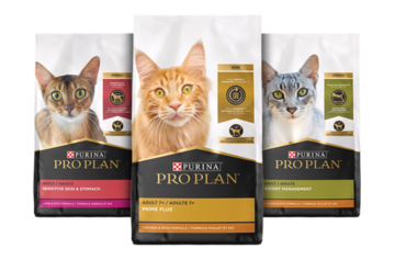 Pro Plan dry cat food products