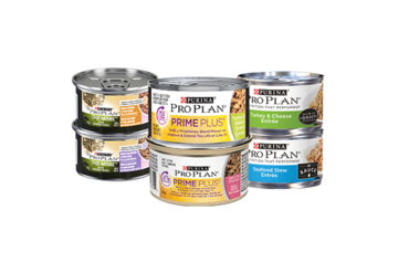Pro Plan wet cat food products