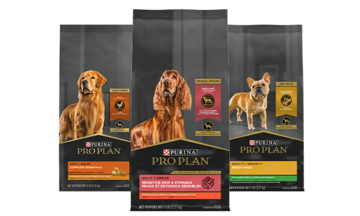 Pro Plan dry dog food products