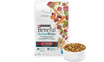 Beneful IncrediBites beef dry dog food for small dogs