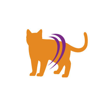 Lean cat icon