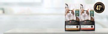 Pro Plan LiveClear cat food products