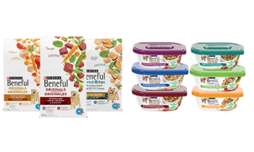 Beneful wet and dry dog food line