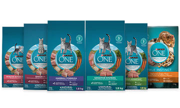 Purina ONE Cat Product Line