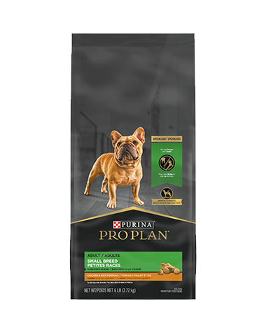 Pro Plan Small Breed Shredded Blend Chicken & Rice Formula