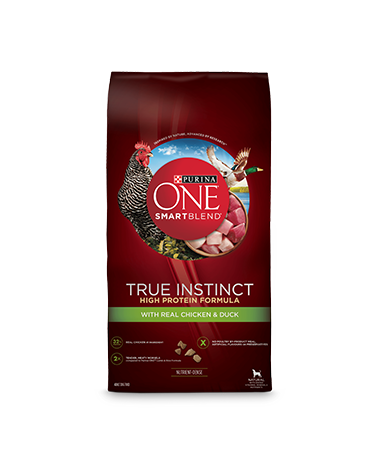 Purina ONE SmartBlend True Instinct High Protein Formula with Real Chicken & Duck
