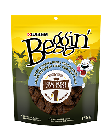 Beggin'® Blend of Turkey Duck & Quail Flavours Dog Snacks