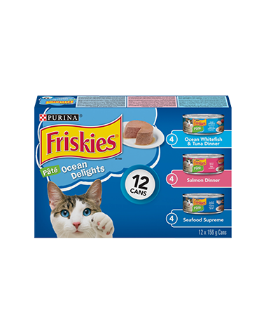 Friskies® Ocean Delights Cat Food Variety Pack