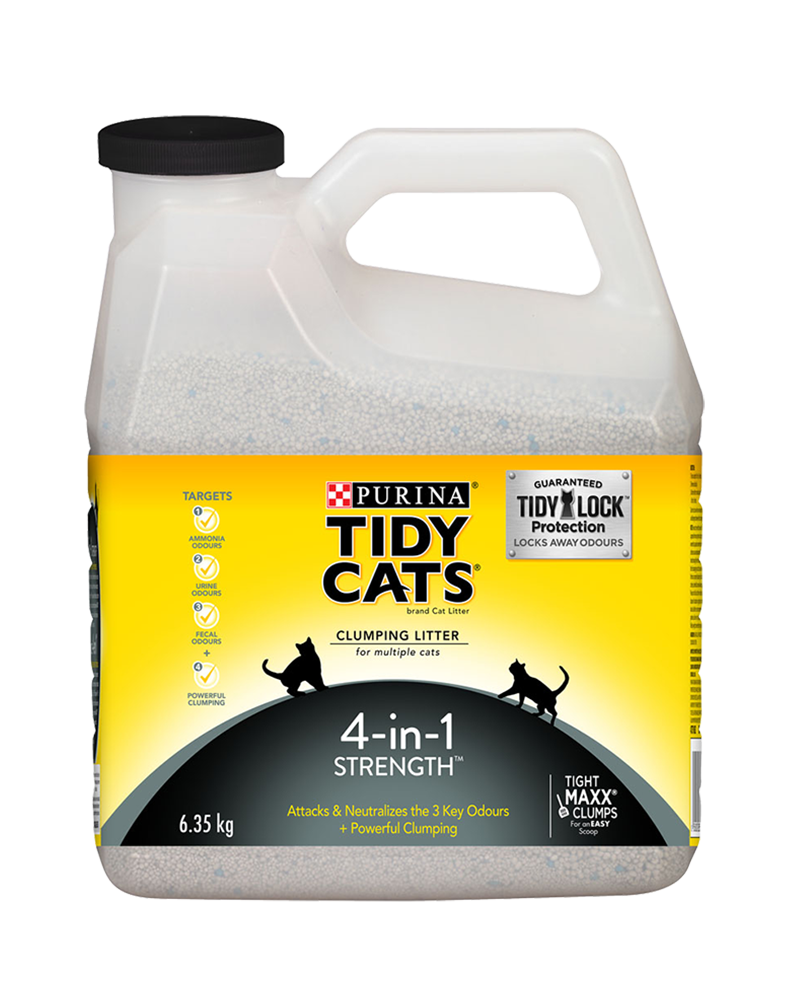 Tidy Cats® 4-in-1 Strength™ Clumping Cat Litter for Multiple Cats